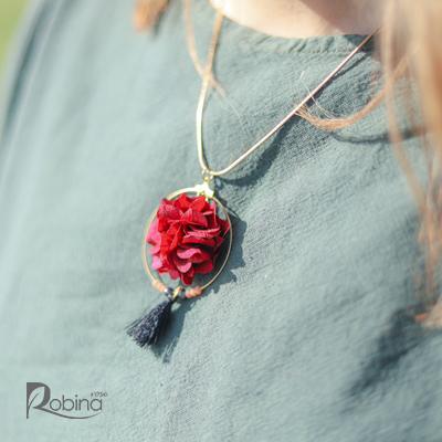 10AN31R1-L-آناهیتا گردنبند قرمز