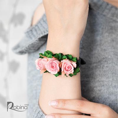 10RO11L1-L03-رویال دستبند صورتی سبز