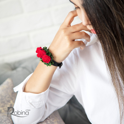 10RO11R1-L02-رویال دستبند قرمز سبز
