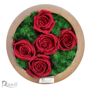 قاب پنج گل کیانا قرمز