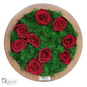 قاب نه گل کیانا سرخابی