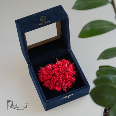50MB14R0-L-مخمل سه بعدی کوچک قرمز
