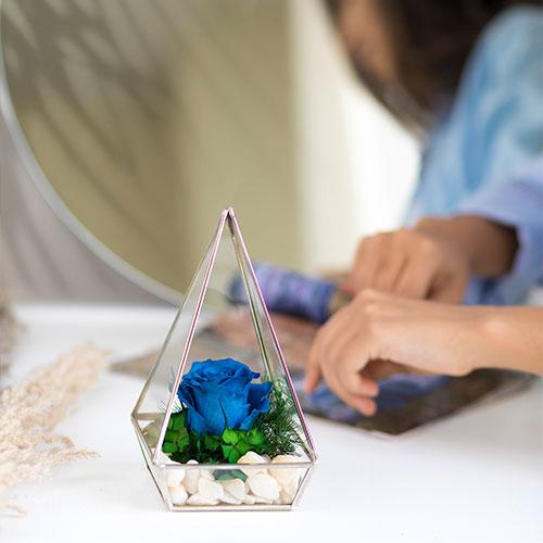 آبگینه-تک-گل-آبی